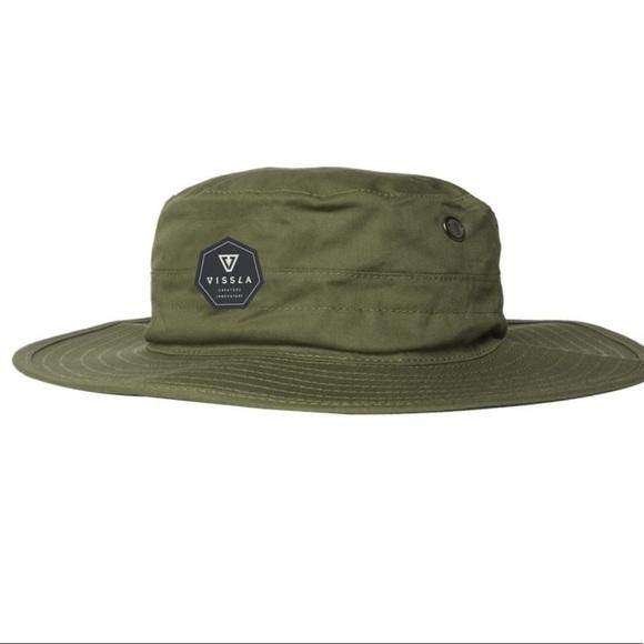 880476d41bc Vissla Bucket Hat - Boonie Green
